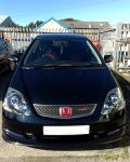 Honda Civic Type R - accident repair